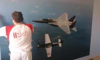 fototapeta-letadla